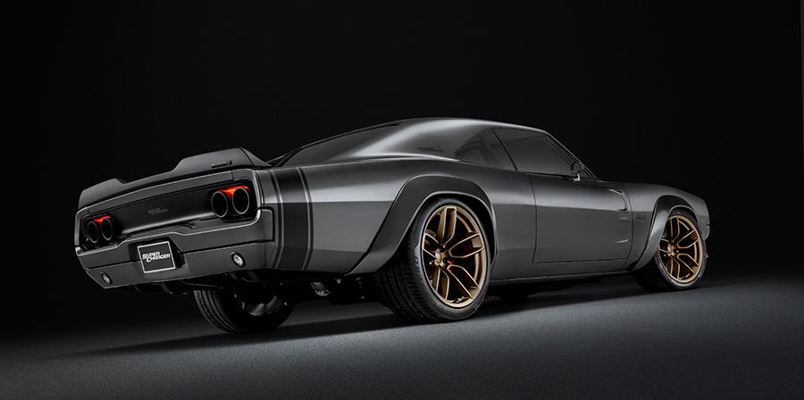 Dodge Super Charger Hellephant 426 HEMI
