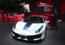Ferrari 488 Pista Spider Paris Motor Show