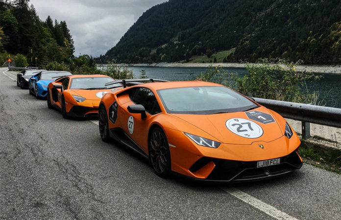 H.R. Owen Lamborghini Italy Road Trip