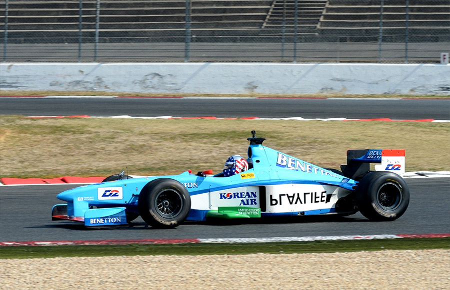 LRS Formula One Track Day Benetton F1