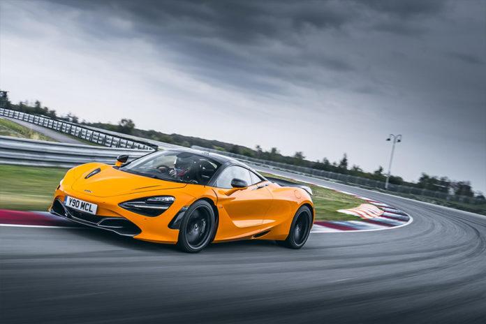 McLaren 720S Track Spec