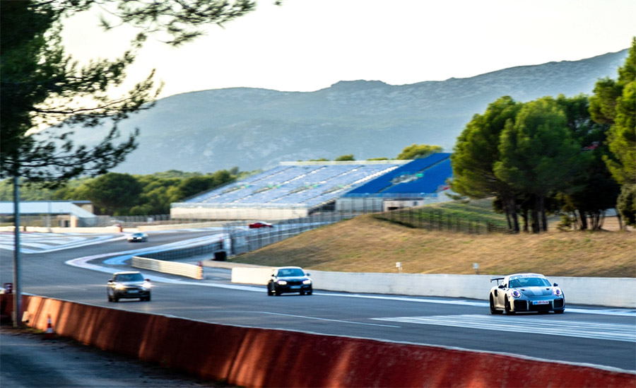Porsche 911GT2RS GT Drive Paul Ricard Circuit
