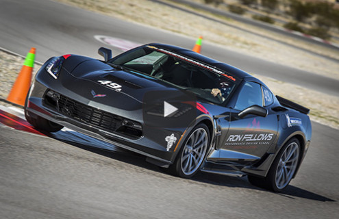 Ron Fellows Performance Corvette Driving School