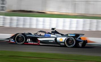 Sebastien Buemi Nissan Formula E