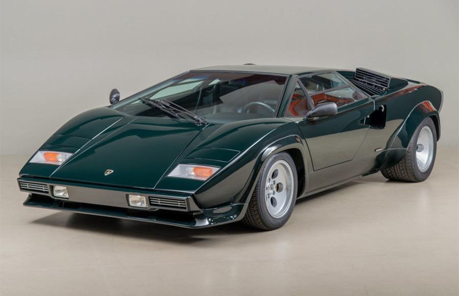 (HD) Lamborghini Countach 5000 QuattroValvole + FIRE ALARM ...  |Lamborghini Countach Reverse