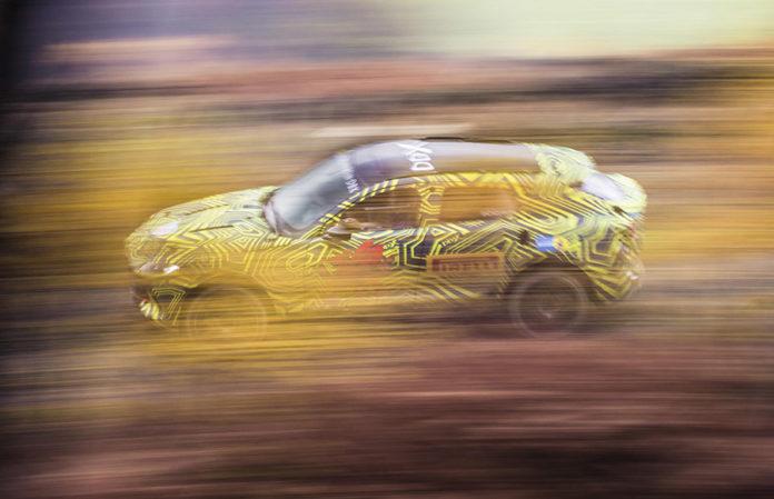 Aston Martin DBX SUV Testing
