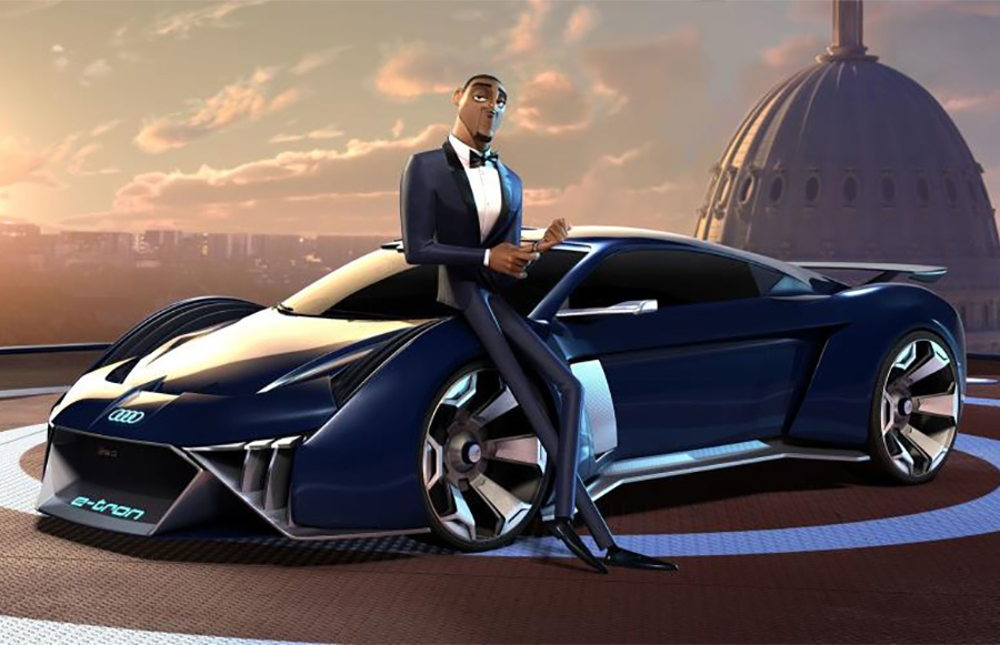 Audi RSQ e-tron Concept for Spies in Disguise Movie