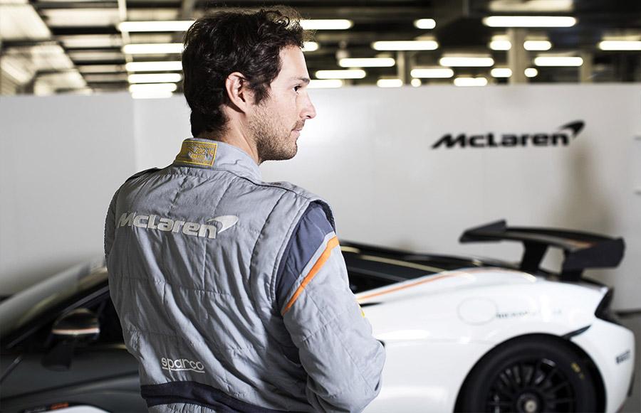Bruno Senna McLaren Sparco Race Suit