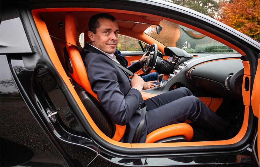 Bugatti Chiron 1 Champagne Carbon Partnership