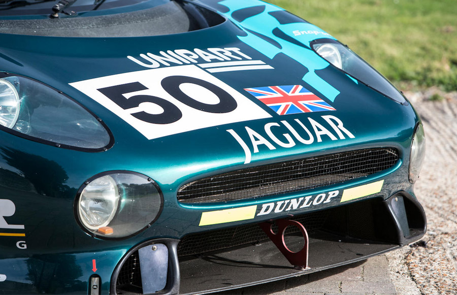 David Coulthard 1993 Jaguar XJ220C Bonhams Bond Street Sale