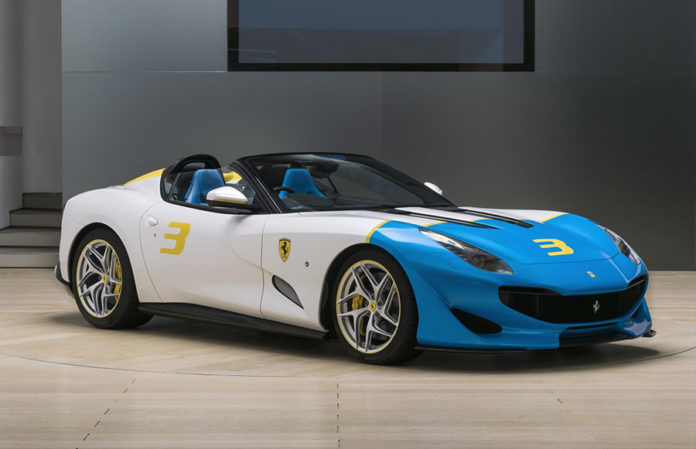Ferrari SP3JC Los Angeles Auto Show