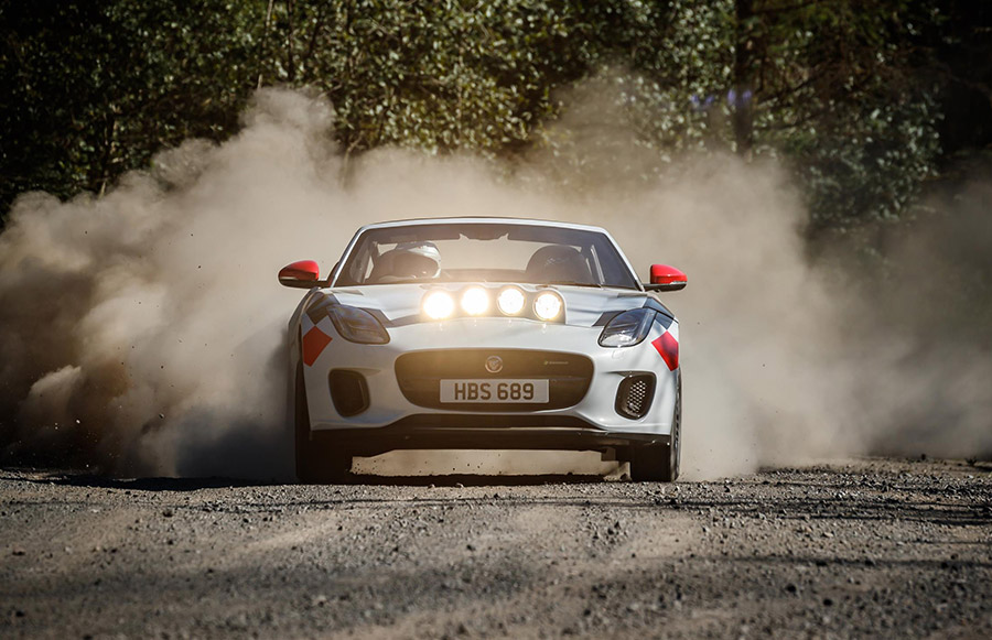 Jaguar F-Type Rally Cars