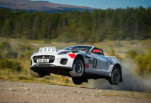 Jaguar F-Type Rally Cars