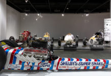 Legends of Motorsports Exhibit Petersen Museum