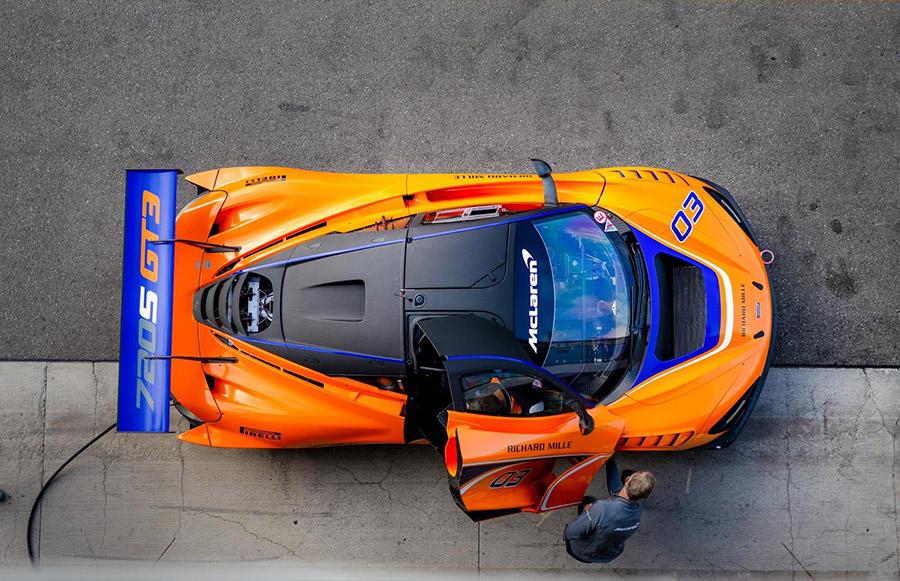 McLaren 720S GT3 Gulf 12 Hours Abu Dhabi
