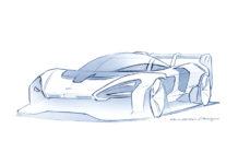McLaren Senna GTR Testing