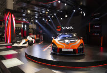 McLaren Senna Latin American debut at São Paulo International Motor Show
