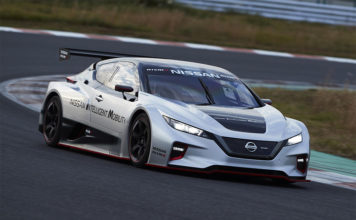 Nissan LEAF NISMO RC Electric Race Car