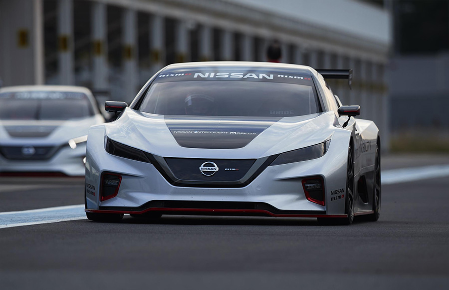 Nissan LEAF NISMO RC Electric Race Car