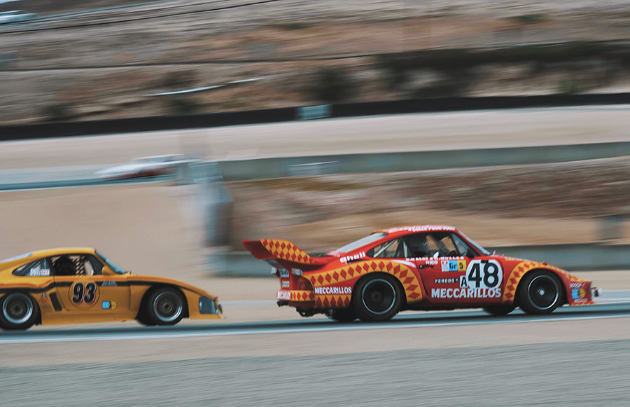 Rod Emory Rennsport Reunion Porsche 935