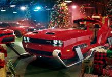 Santa Sleigh Dodge upgrade