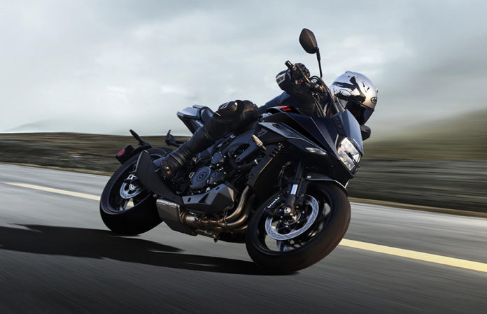 Suzuki Black Katana at Milan International Motorcycle Show