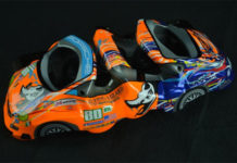 Troy Lee Flying Lizard Porsche Le Mans Brembo B-M6 Brake Calipers