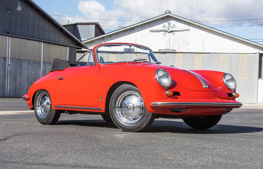 1963 Porsche 356 Carrera Bonhams Scottsdale