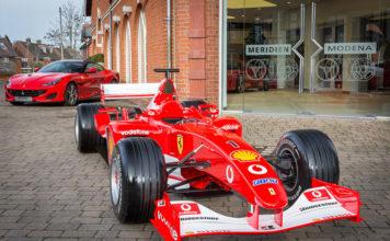 Meridien Modena Lyndhurst Ferrari Dealer of the Year 2018