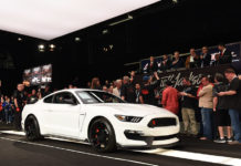 2015 Ford Shelby Mustang GT350R Petersen Automotive Museum
