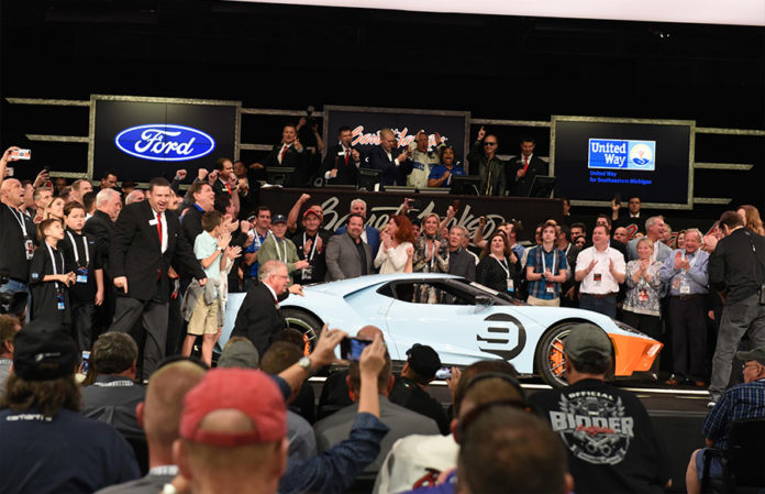 2019 Ford GT Heritage Edition Barrett-Jackson