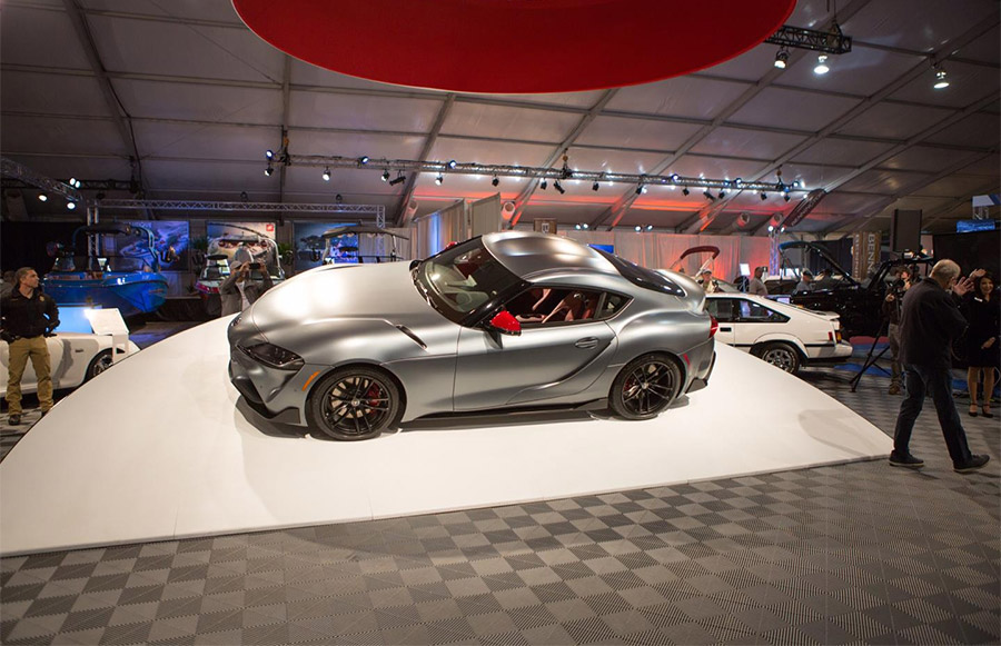 2020 Toyota Supra Barrett-Jackson Scottsdale Auction