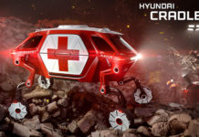 Hyundai Elevate Walking Car Concept