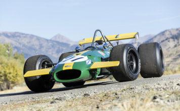 Jacky Ickx Brabham-Cosworth BT226A Amelia Island Auction