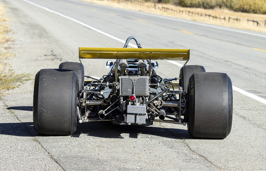 Jacky Ickx Brabham-Cosworth BT226A Amelia Island Auction
