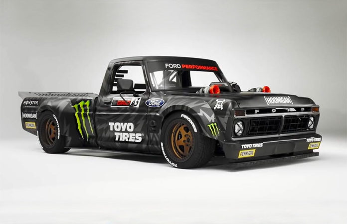 Ken Block Gymkhana TEN Hoonitruck 3d Printed Part