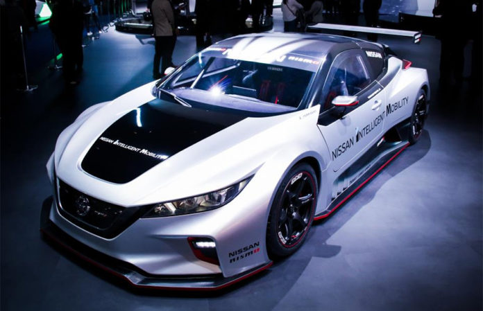 All-new LEAF NISMO RC sparks interest at CES