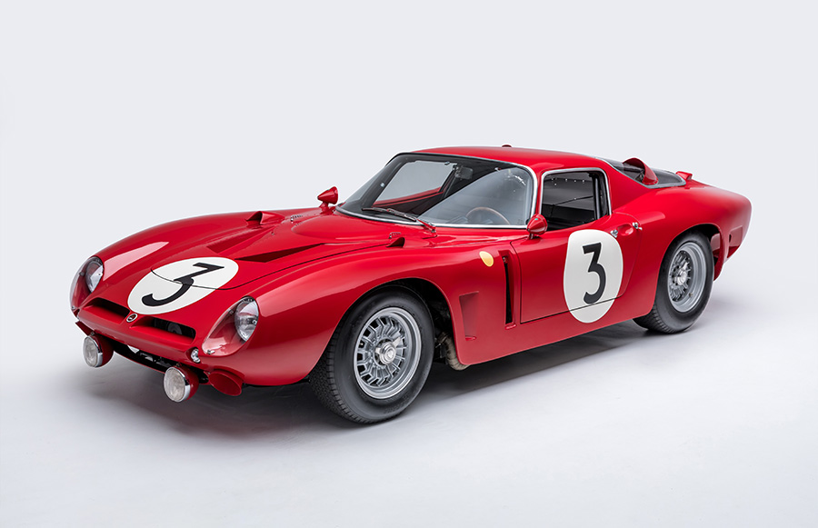 Petersen Museum Race Car Exhibit
