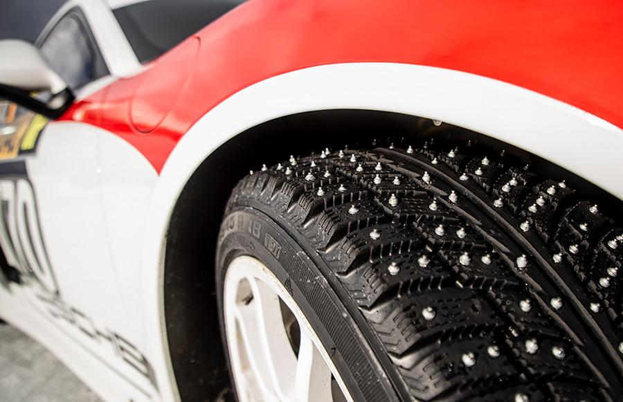 Porsche 718 Cayman GT4 Clubsport Rallye