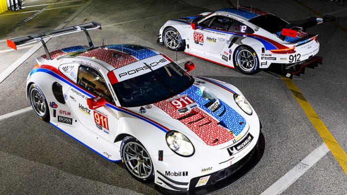 Porsche Brumos Racing Colors