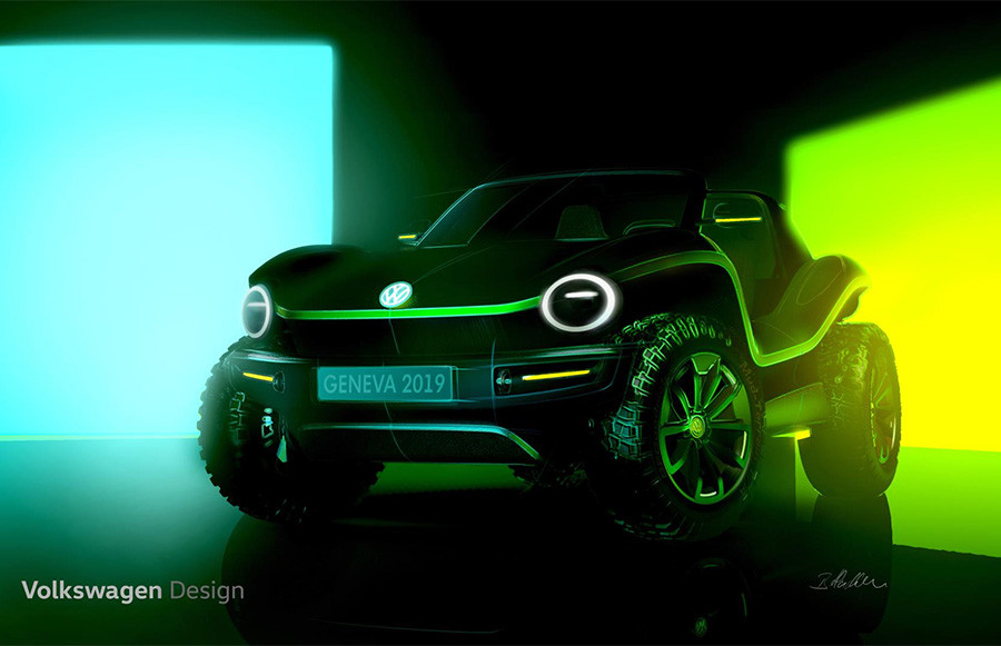 Volkswagen Electric Dune Buggy
