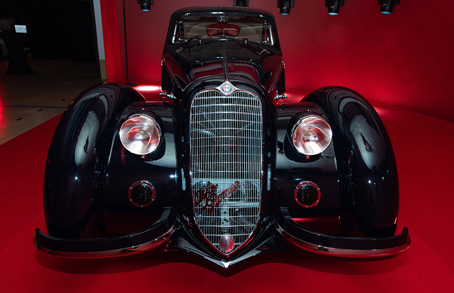 1937 Alfa Romeo 8C 2900B Berlinetta The Peninsula Classics