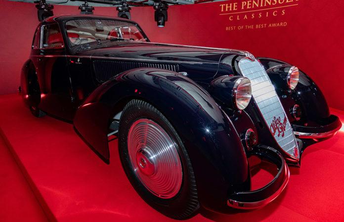 1937 Alfa Romeo 8C 2900B Berlinetta The Peninsula Classics