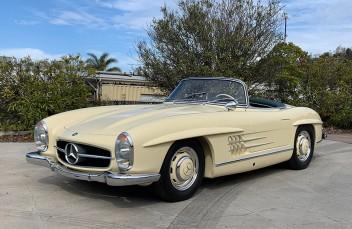 1957 Mercedes Benz 300SL Roadster For Sale