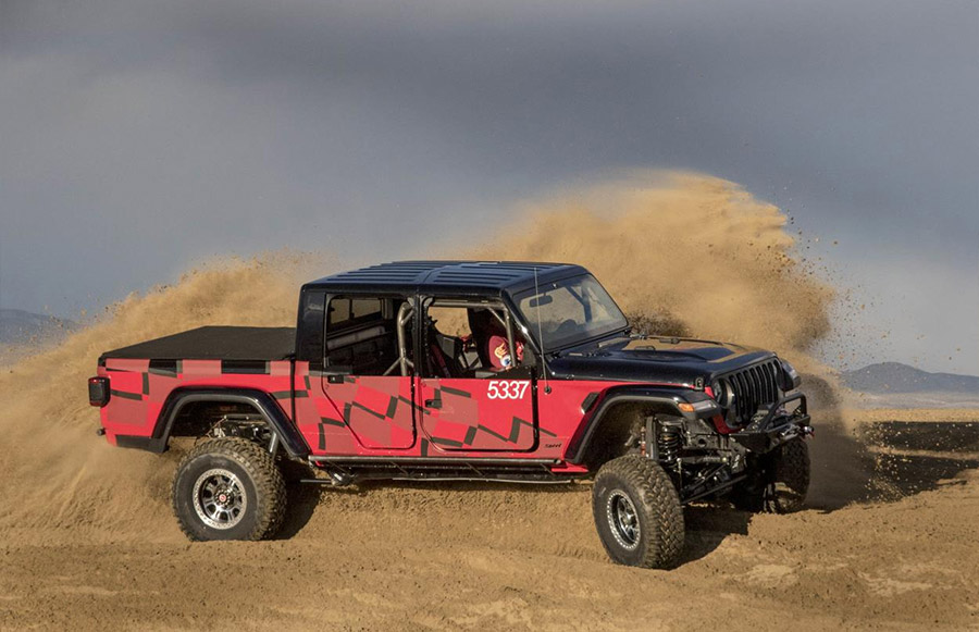 2020 Jeep Gladiator Every Man Challenge King of the Hammers
