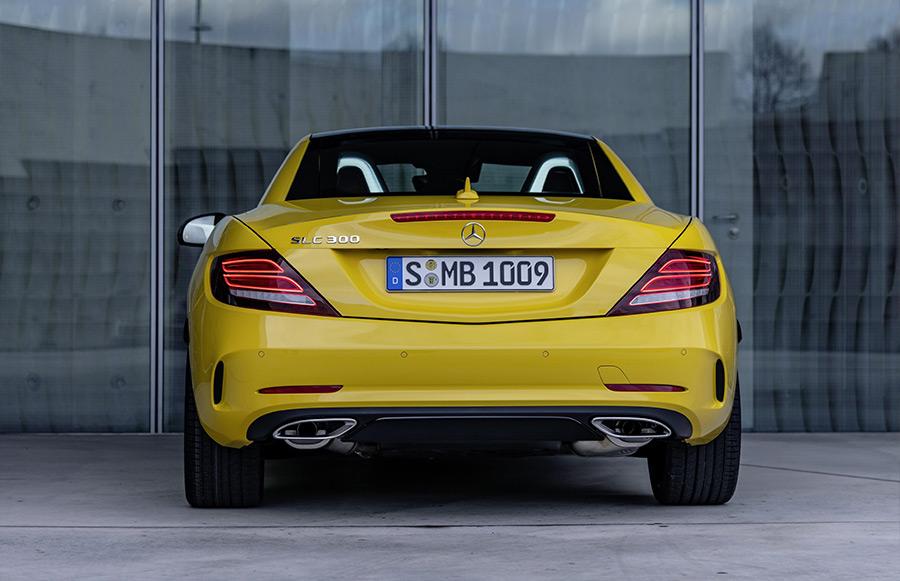 2020 Mercedes-Benz SLC Final Edition
