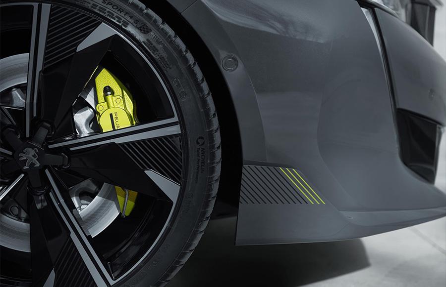 508 Peugeot Sport engineered concept at Geneva Motor Show