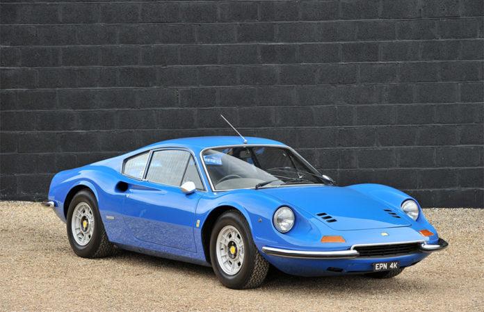 Azzuro 1972 Ferrari Dino 246GT Silverstone Auctions