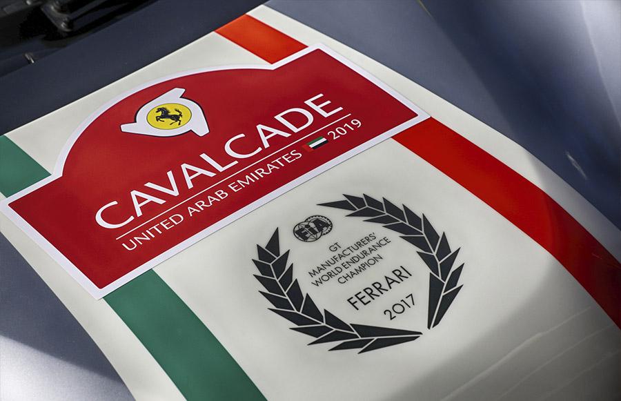 Ferrari International Cavalcade UAE