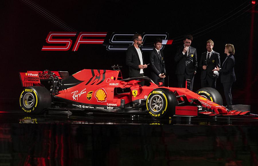Scuderia Ferrari SF90 Unveiled